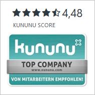 kununu - bewerte uns als Arbeitgeber