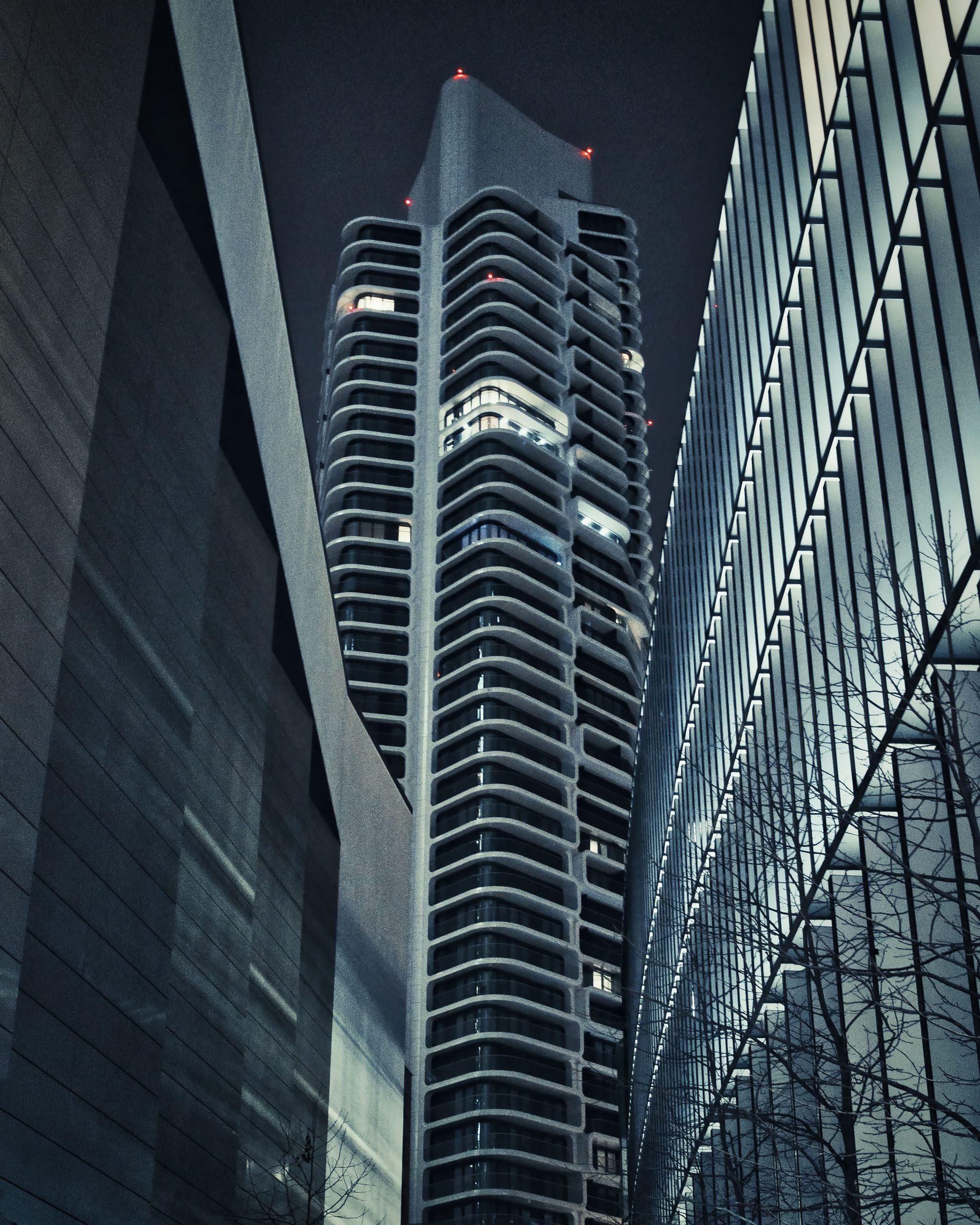 Skyscraper - picture taken with Samyang AF 85mm F1.4